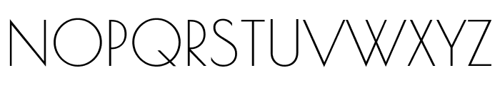 Poiret One Regular Font UPPERCASE