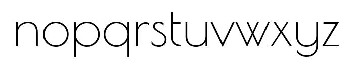 Poiret One Regular Font LOWERCASE