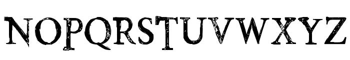 PoisonHope-Regular Font UPPERCASE