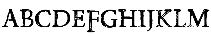 PoisonHope-Regular Font LOWERCASE