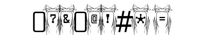 Poke-Regular Font OTHER CHARS