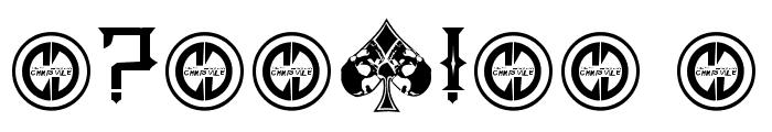 Poker Kings Regular Font OTHER CHARS