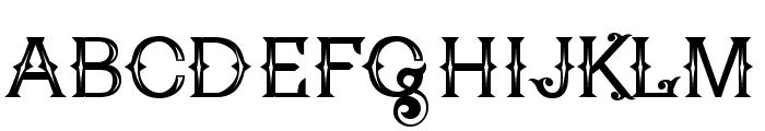 Poker Kings Regular Font UPPERCASE