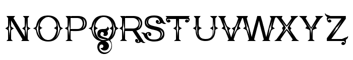 Poker Kings Regular Font LOWERCASE