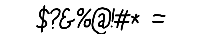 PolanStronk Bold Italic Font OTHER CHARS