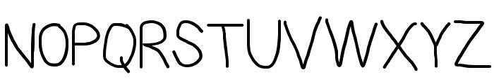 PolanStronk Regular Font UPPERCASE