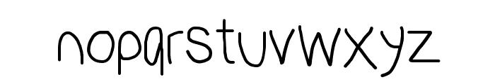 PolanStronk Regular Font LOWERCASE