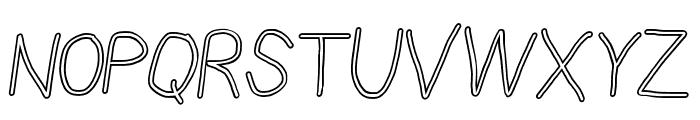 PolanStronk Snieg Italic Font UPPERCASE