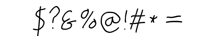 PolanWritings italic Font OTHER CHARS