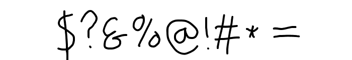 PolanWritings Font OTHER CHARS