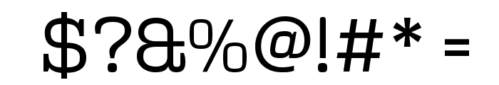 Polaris Font OTHER CHARS
