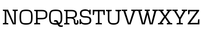Polaris Font UPPERCASE