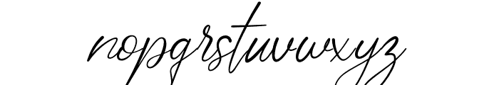 Polarise Font LOWERCASE