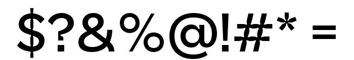 PoliteType Regular Font OTHER CHARS