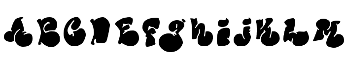 Political Graft Fill Font UPPERCASE