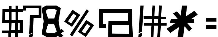 PolloAsado-Regular Font OTHER CHARS