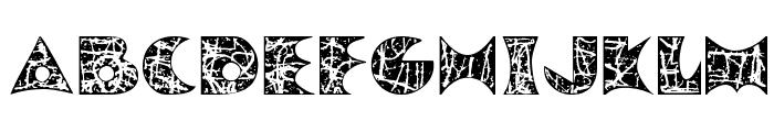PollockMF Font LOWERCASE