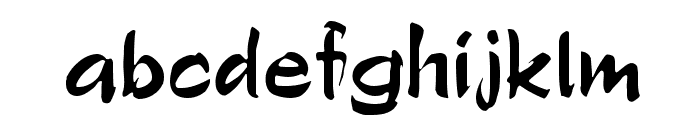 Polo Brush Font LOWERCASE