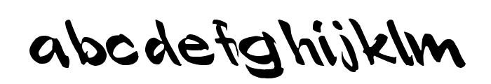 Polo Semi Script Leftified Font LOWERCASE