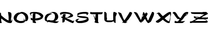 Polo-SemiScript Ex Font UPPERCASE