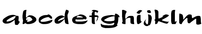 Polo-SemiScript Ex Font LOWERCASE
