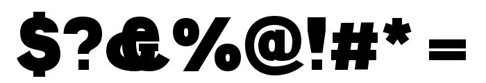 Polt Black Font OTHER CHARS