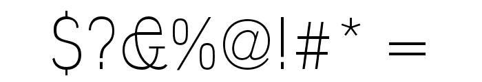 Polt Light Font OTHER CHARS