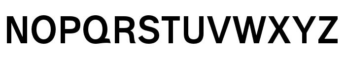 Polt bold Font UPPERCASE