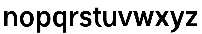 Polt bold Font LOWERCASE