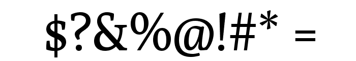 Poly-Regular Font OTHER CHARS