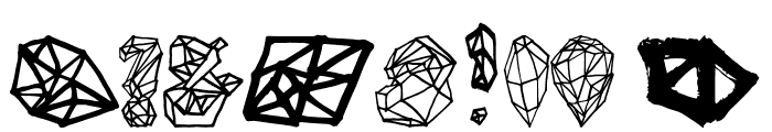 Polygons Regular Font OTHER CHARS