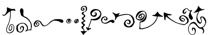 Polywog Font LOWERCASE