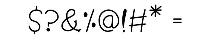 Pom Pom Font OTHER CHARS