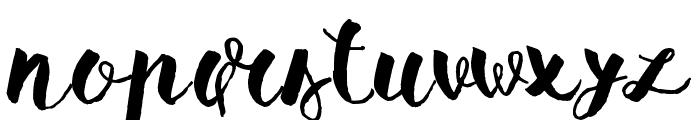 Pomah Type Font UPPERCASE