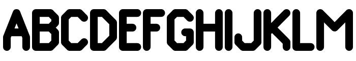 Pomcute Font UPPERCASE
