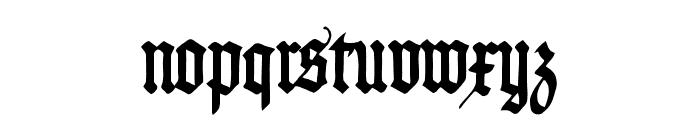 PommernGotisch Font LOWERCASE