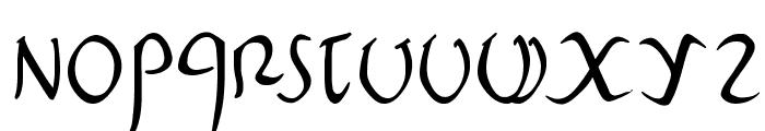 PompejiPetit Font LOWERCASE