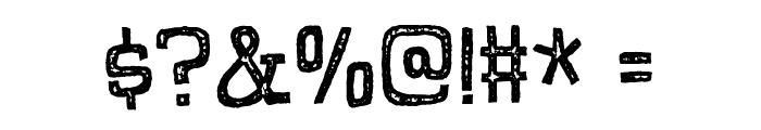 PompelmusCrispyDEMO Font OTHER CHARS
