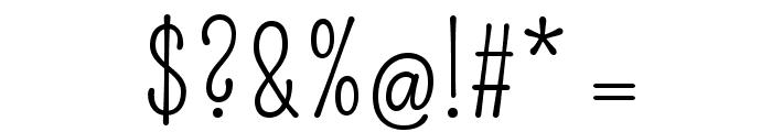 Pompiere-Regular Font OTHER CHARS