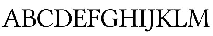 Ponomar Unicode TT Font UPPERCASE