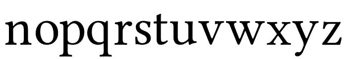 Ponomar Unicode TT Font LOWERCASE