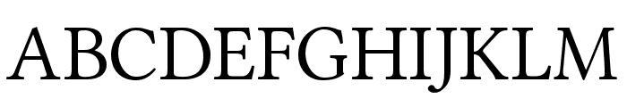 Ponomar Unicode Font UPPERCASE