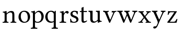 Ponomar Unicode Font LOWERCASE