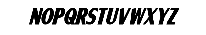 Ponsonby Bold Italic Font LOWERCASE