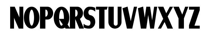 Ponsonby Bold Font UPPERCASE