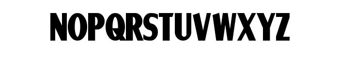 Ponsonby Bold Font LOWERCASE