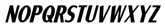 Ponsonby Italic Font UPPERCASE