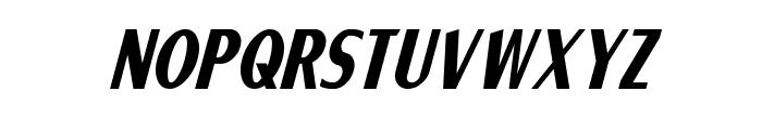 Ponsonby Italic Font LOWERCASE