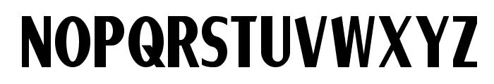 Ponsonby Font UPPERCASE