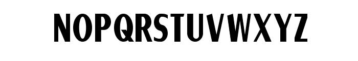 Ponsonby Font LOWERCASE